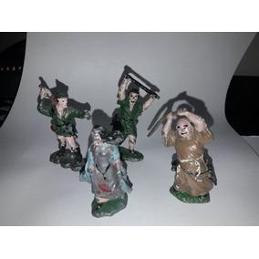 Set Robin Hood Figuras De Plomo Marca Rolo 1950 Supertoys