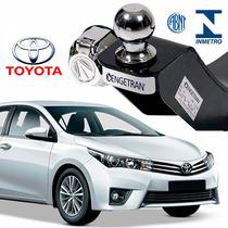 Engate Para Reboque Engetran Toyota Corolla 2015 2.0 Cromado