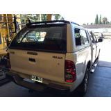 Luneta Repuesto **cupula Carriboy Toyota Hilux** Hasta 2015