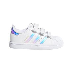 Zapatillas adidas Originals Moda Superstar Cf I Bebe Bl/tu