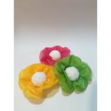 Capacillos Florales De Seda. Paquete De 12 Unidades