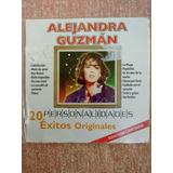 Cd Alejandra Guzman, 20 Exitos Originales, Discos Mozart.-