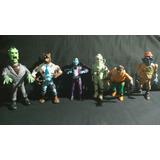 Mounstros X6 Colección Cazafantasmas Ghostbusters Jocsa