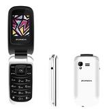 Telefono Celular De Tapa Folder Zm120 Para Telcel Unefon Att