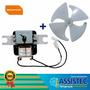 Motor Ventilador Refrigerador Brastemp Clean Frost-free 127v