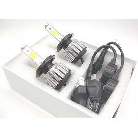 06 Kit Lampada Xenon De Led 6000k Super Branca H4
