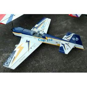 Kit Aeromodelo Cap 232, Combustão Ou Eletrico,sem Eletronica