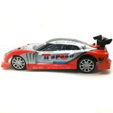 Carro De Controle Remoto Drift C/ Carregador Vermelho
