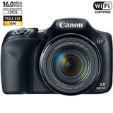 Canon Powershot Sx530 Hs 16.0 Mp 50 X Opt Zoom 1080p Complet
