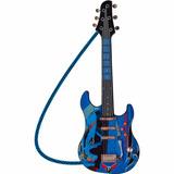 Guitarra Infantil Hot Wheels Luxo - Fun Diversão