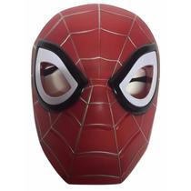 Máscara Homem Aranha Luz Som Fantasia Infantil Vingadores