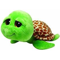 Juguete Tortuga Verde Ty Beanie Buddies Boos Zippy Grande D
