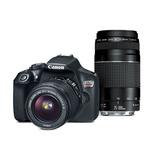 Cámara Reflex Canon Eos Rebel T6 Wifi Lentes 18-55 Y 75-300