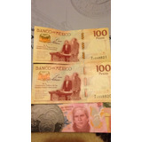 Billete 100 Pesos Aniversario De La Constitucion 2017