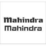 Adhesivo Portalon Mahindra / Tapa Trasera Mahindra