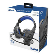 Auricular Trust Ravu Gxt 307 Headset Gamer Mic Pc Ps4 Y Ps5