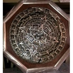 Cuadro Del Calendario Azteca De Repujado