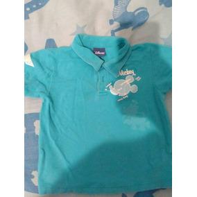 Chemise Franela Camisa Para Nino Talla 12 M De Disney