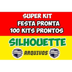 a90c072717634 100 Festas Prontas Silhouette - Artesanato no Mercado Livre Brasil