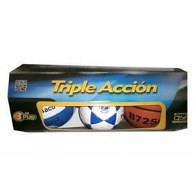 Set Triple Accion Basket,futbolito,volibol De Tamanaco