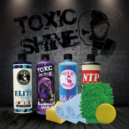 Toxic Shine   Kit / Combo De Lavado Completo   Deluxe #03