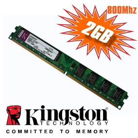 Memória Kingston Ddr2 2gb 800mhz Desktop Pc Computador