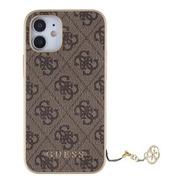 Funda Protector Guess Charm Oro iPhone 12 Mini Original
