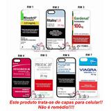 Capinha Capa Case Rivotril Gardenal Ritalina Galaxy S5 S6 S7