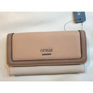 Billetera Guess Original, Sand Multi Hasting SLG