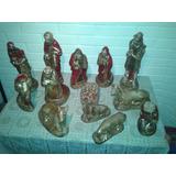 Pesebres Nacimientos Trece Figuras Macizas 30cm