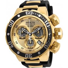 Relógio Luxo Invicta Seadragon 21641 Venom Dourado 0037
