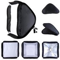Difusor Softbox De 60 X 60cm Para Flash Portátil