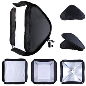 Difusor Softbox De 60 X 60cm Para Flash Portátil
