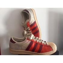 Zapatillas Adidas Originals Naranjas Cuero T9.1/2usa Unicas!