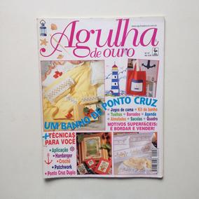 Revista Agulha De Ouro Ponto Cruz Jogos De Cama Toalhas N°41