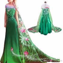 Vestido Frozen Fever Elsa