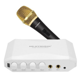 Hd-hyundal Hdmi Karaoke Mixer Frete Gratis
