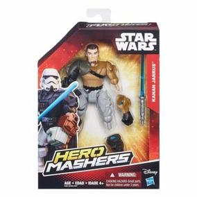 Muñeco Star Wars Hero Masher Hasbro Kanan Jarrus