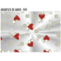 Sacos Transparente Decorado Amor 25 X 35 Com 50 Unid