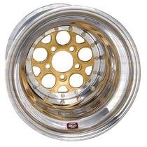 Roda Weld Magnum Drag 2.0 15x10 5x4.5 5 Backspace Gold 786 5
