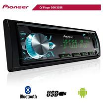 Cd Player Automotivo Pioneer Deh-x5br Bt Usb Aux Mixtrax