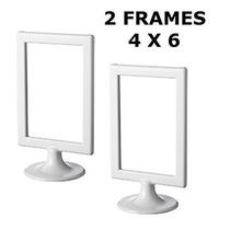 Marco De Fotos De Ikea Tolsby Blanco 4 X 6 \(paquete De 2)