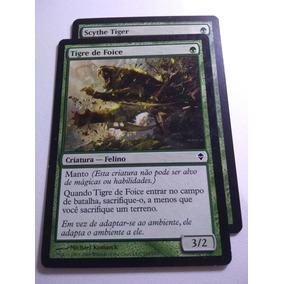 Tigre De Foice X2, Criatura Verde De Custo Baixo Para Aggro