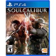 Soulcalibur Vi Formato Físico Ps4 Original