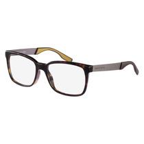 Óculos De Grau Hugo Boss Marrom
