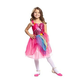Disfraz Para Niña Barbie Secreto Vestido Alexa Puerta