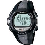 Reloj Casio Sport Monitor Veloc. Y Distanc. Gps Para Correr