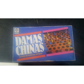 Damas Chinas Juego De Mesa Retro Excelente Estado Kipos Juegos De