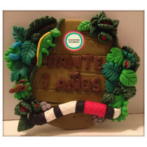 Adorno De Torta Jungla - Jungle Nest Disney