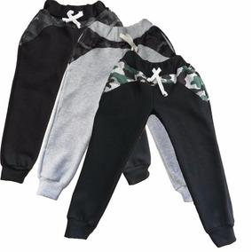 Pantalón Liso Combinado Babucha Frisa Niños
